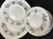 TUSCAN Rondelay serving plates and tea plates